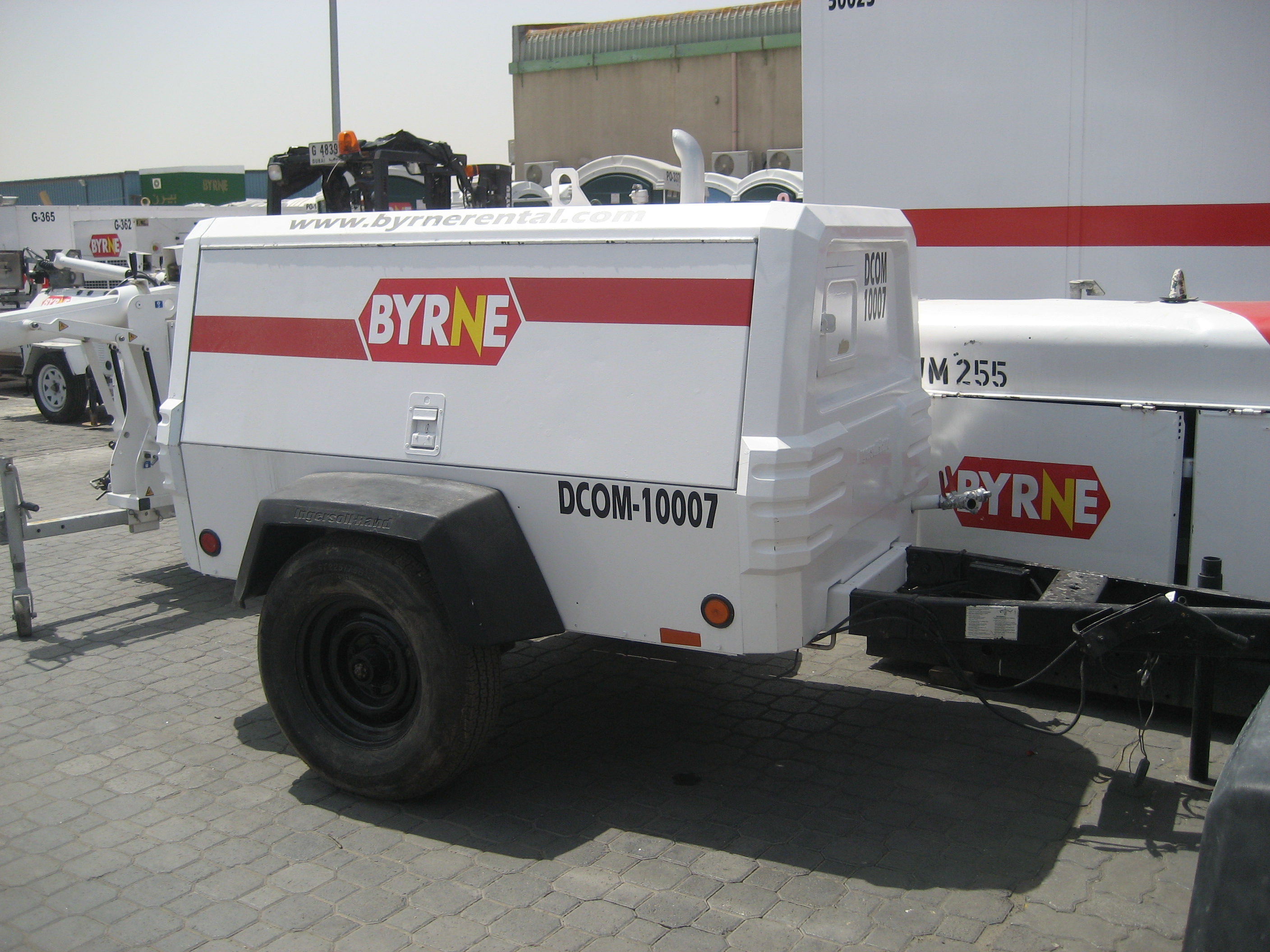 Air Compressor Hire Byrne Equipment Rental
