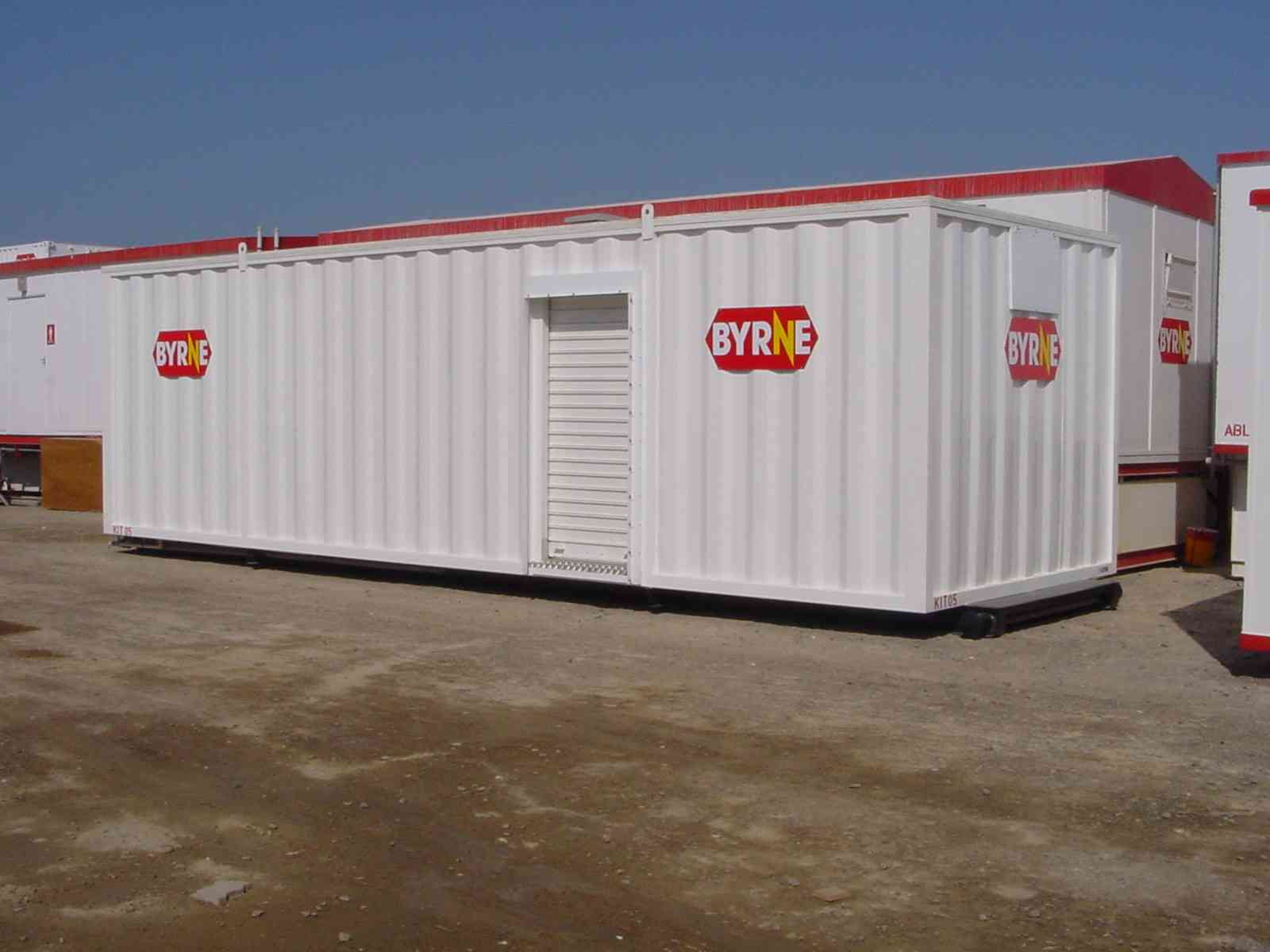 Containerised kitchen