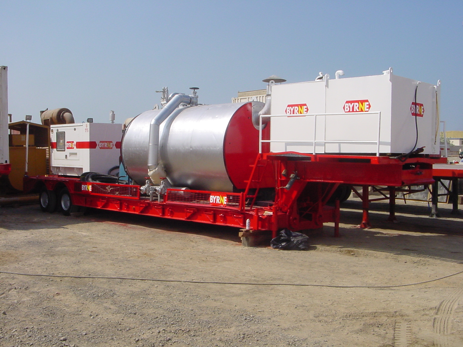 Steam boiler hire
