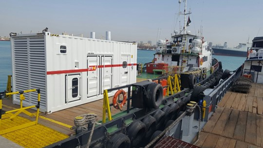 Generator for marine / ports / shipping