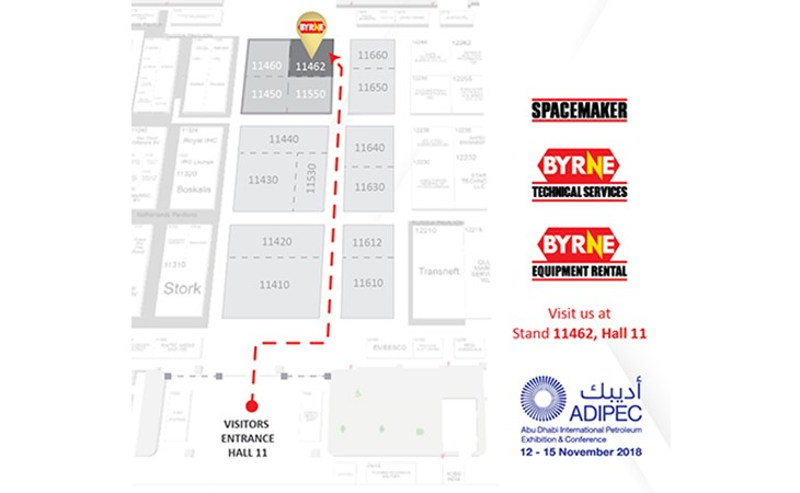 ADIPEC Exhibition Stall Map