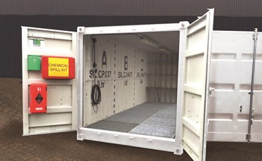 Hazardous Cargo Container
