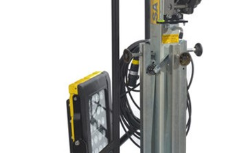 Mobile ATEX Zone 1 Tower Light